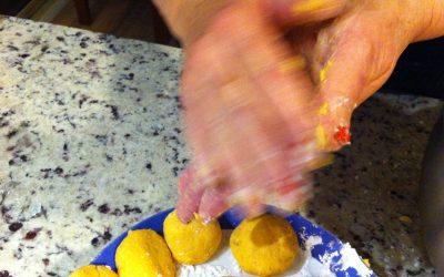 Sweet Potato & Ricotta fritters