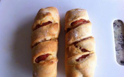 Pão Com Chouriço or Chorizo Bread